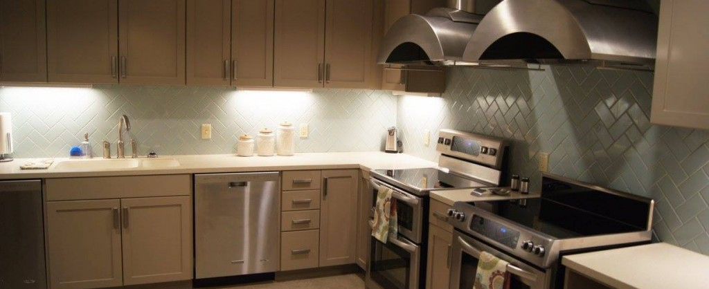 The Ronald McDonald House® at The Children's Hospital located on the 3rd Floor of Garrison Tower, kitchen pictured.
