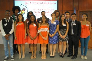 2015 student winners of the Ronald McDonald® scholarships