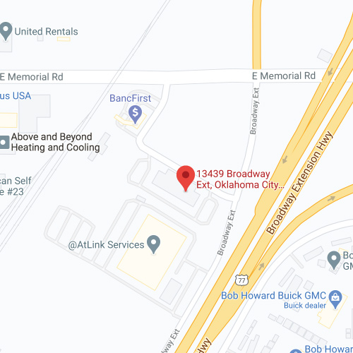 RMHC-OKC screenshot of map to ronald McDonald house administrative offices